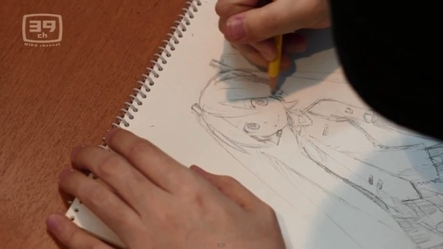 KEI-ilustrando-a-Miku-Hatsune